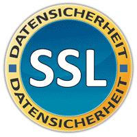 Datensicherheit durch SSL